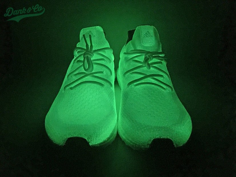 "adidas Ultra Boost Uncaged ""Glow"" Custom by Dank & Co."