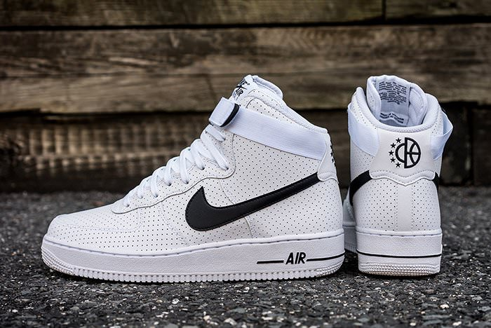 best loved 47912 1b8bb Nike Air Force 1 High Perf White/Black | Nice Kicks