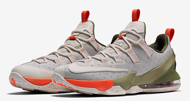 cac2e773bd13 Premium Nike LeBron 13 Low Colorways Are Coming Soon
