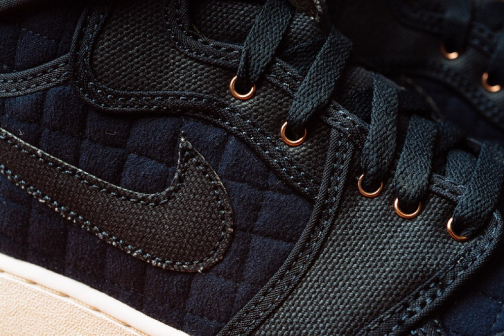 new concept f1922 2260c ... Air Jordan 1 High KO Quilted Navy