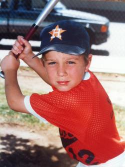 Matt Halfhill - Little League Astros in Fresno, CA