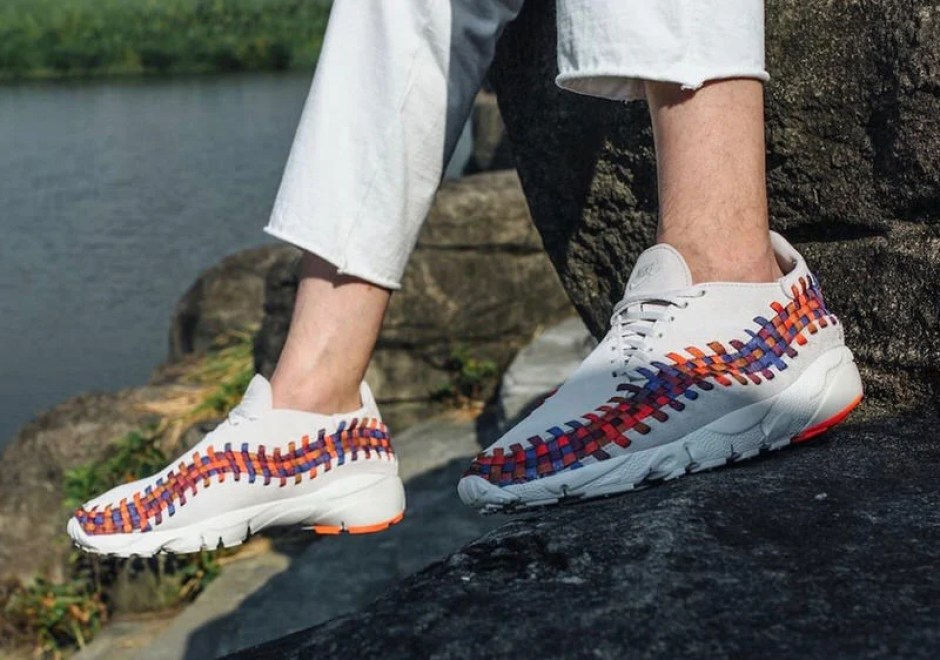 new style 00a16 ca1c7 Nike Air Footscape Woven Chukka Rainbow Pack
