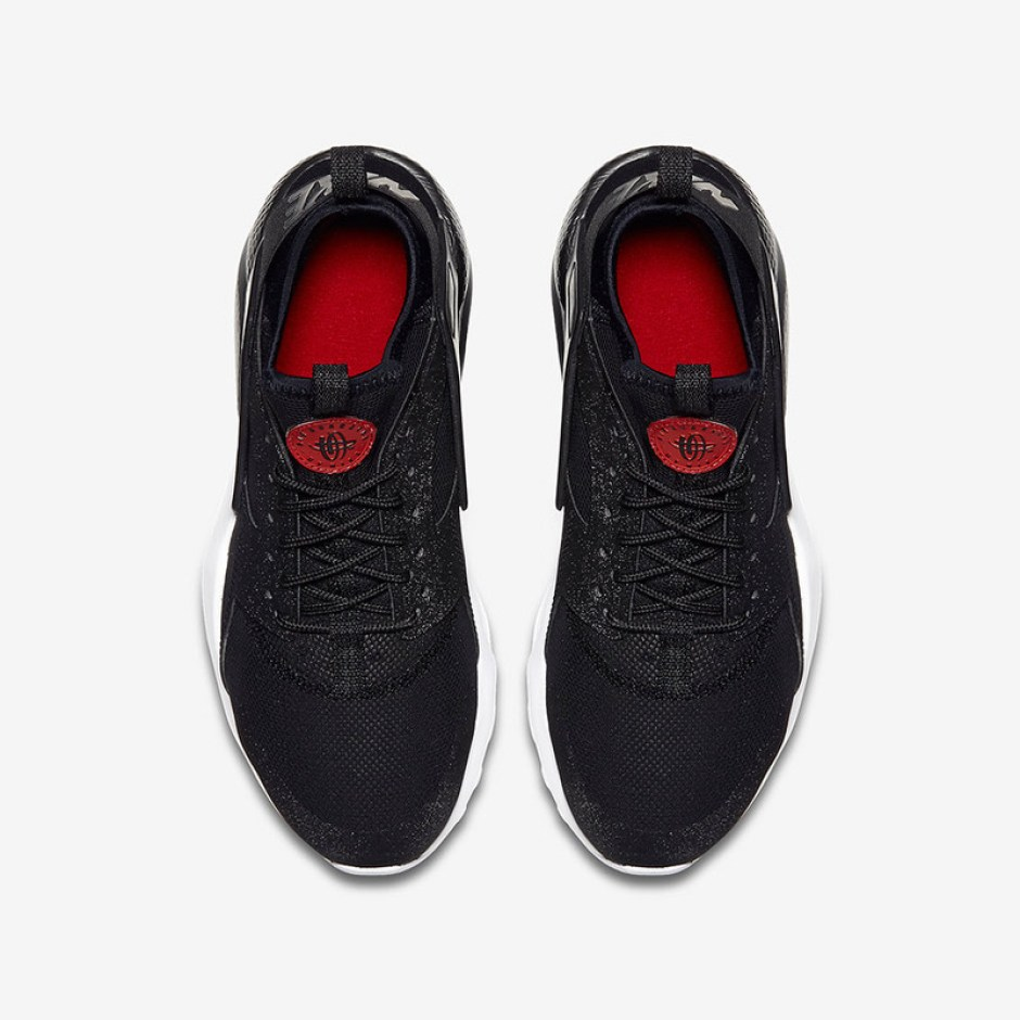 a38c99b9aad34 Nike Air Huarache Ultra Black Red    Coming Soon
