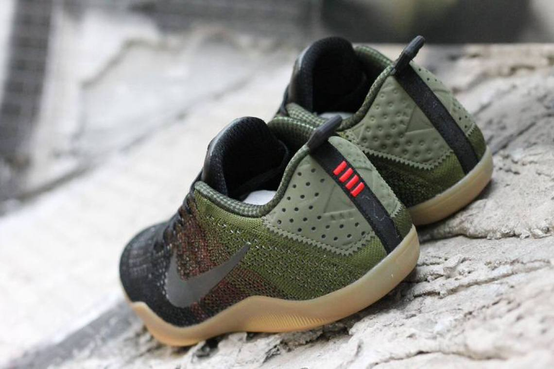 hot sale online 3a517 56f24 Nike Kobe 11 4KB Green Horse