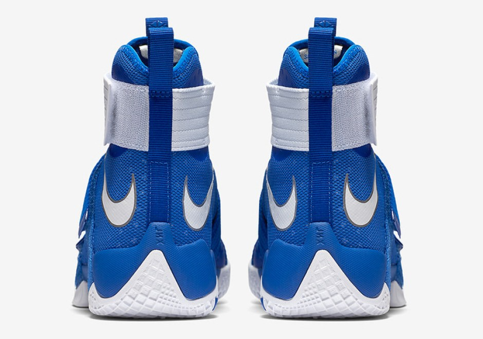 00f106df3b7 Nike LeBron Soldier 10 Debuts in Ohio State and Kentucky Colorways ...