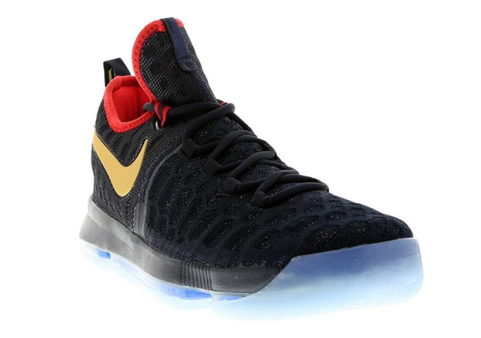 Nike KD 9 Gold Swoosh