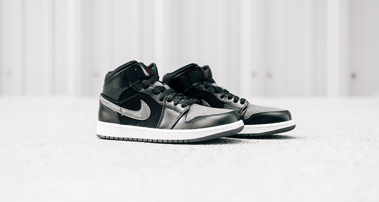 f460a0e77770 Air Jordan 1 Mid Winter Black Dark Grey    Available Now