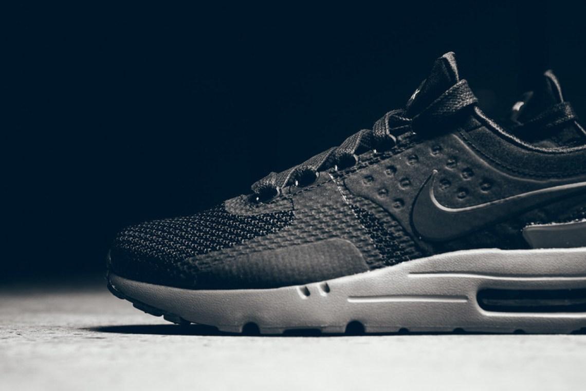 competitive price 3d24c 9b213 ... Nike Air Max Zero Black Dark Grey