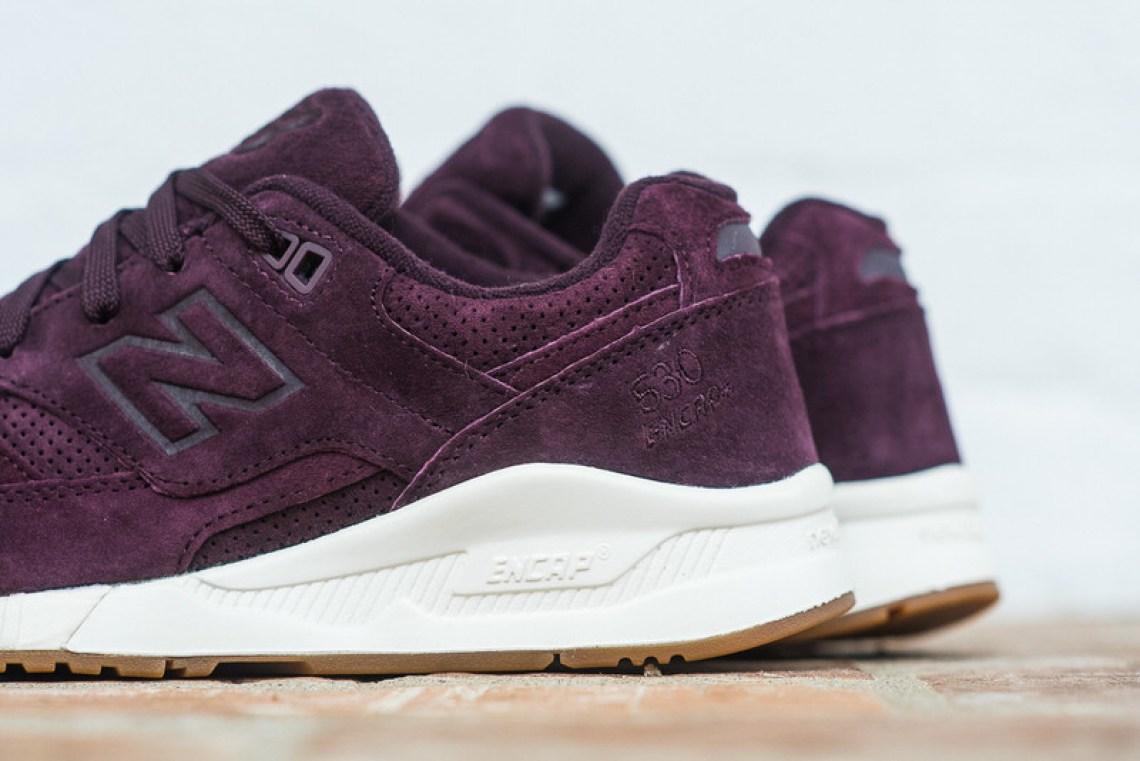 New Balance 530 Burgundy/Gum