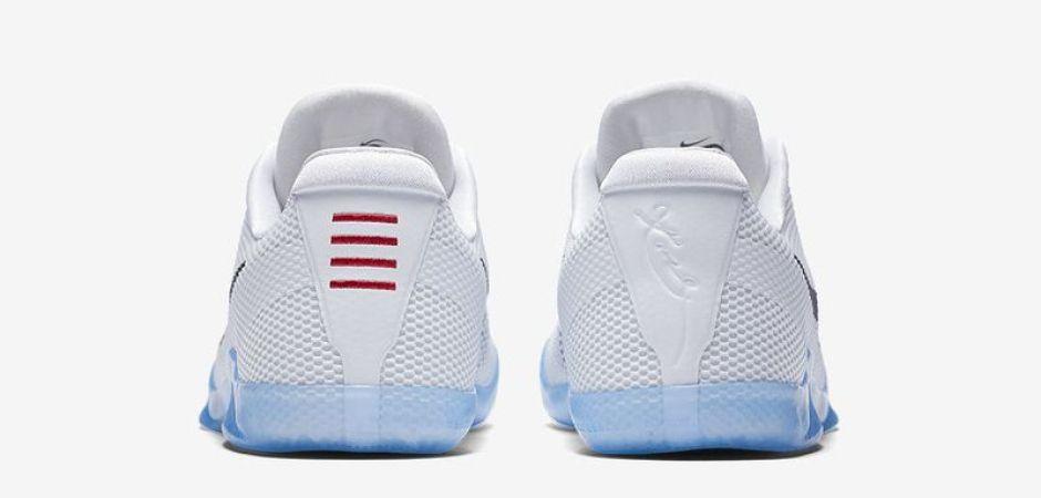 size 40 ee483 e5bbc ... Nike Kobe 11 White Black