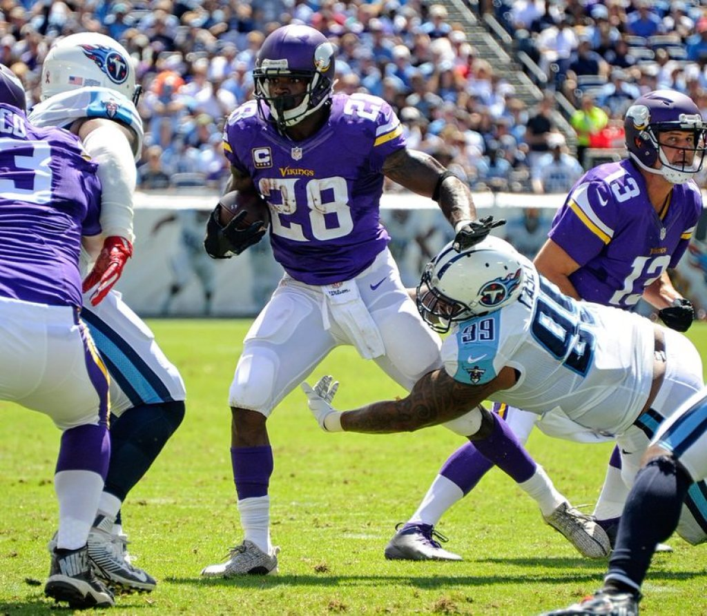 7f3385fa2651f Adrian Peterson in the adidas Yeezy Boost 350  Adidas Yeezy 350 Football Cleat  Turtle Dove ...