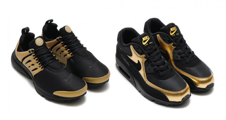 Pack Sportswear Air Black Incorporates Gold Nike Presto And 8AnIfqnRT