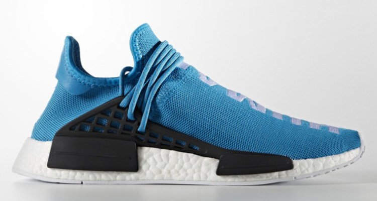 Pharrell x adidas NMD Human Race Light Blue