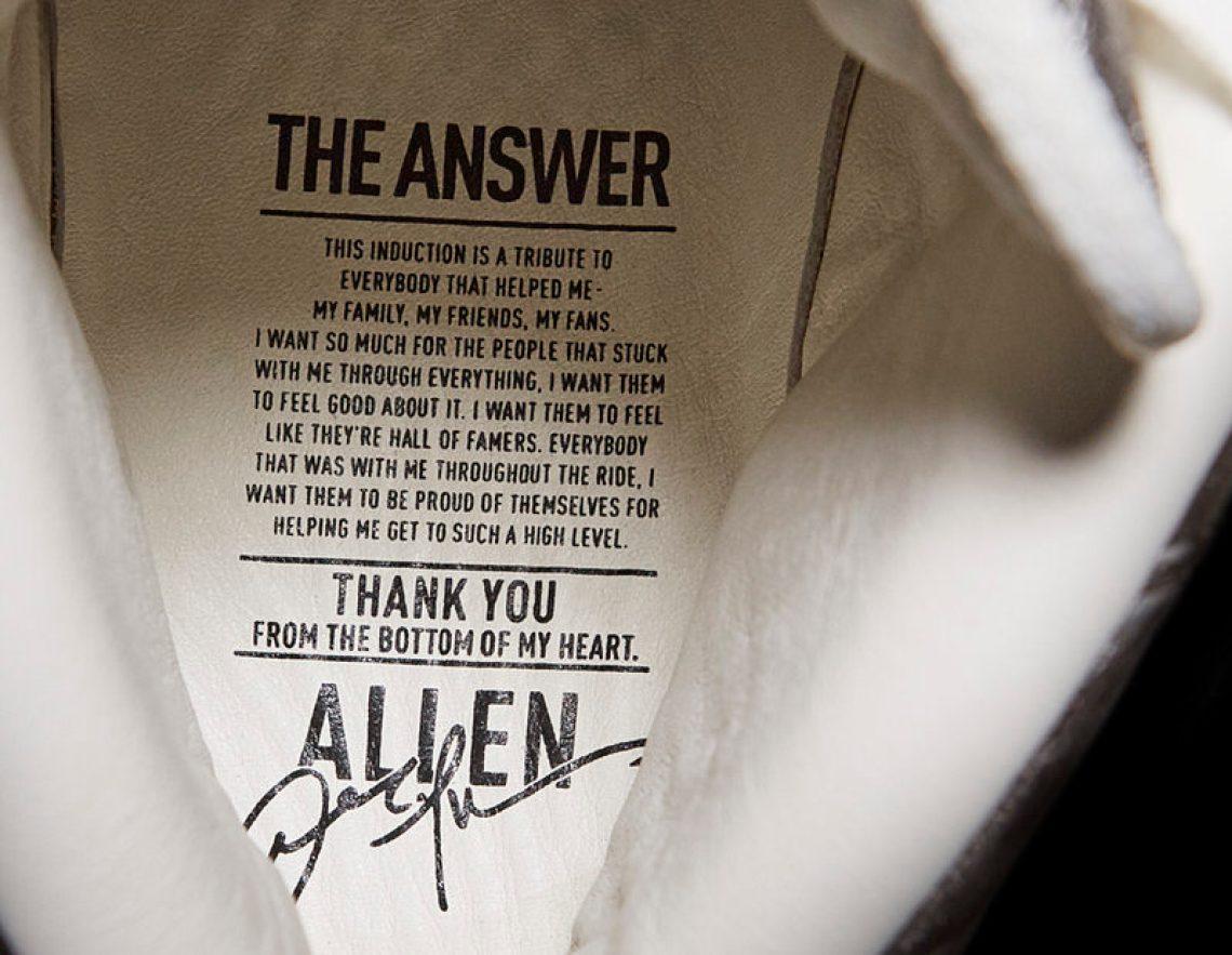 Reebok Question Allen Iverson HallOfFame Enshrinement 7