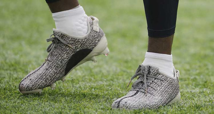 Gridiron Kicks // adidas Yeezy Cleats in Action