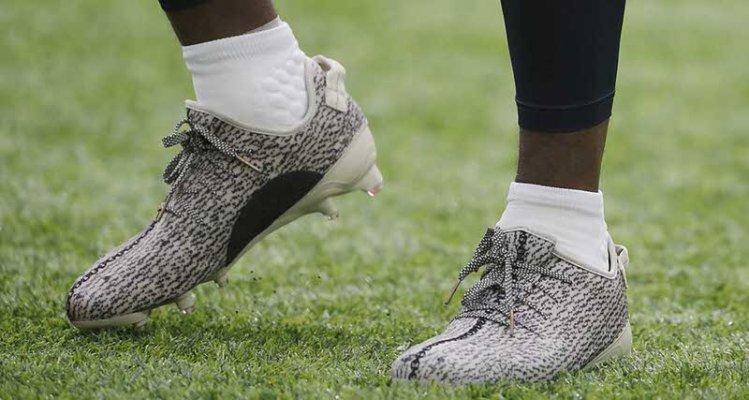 Gridiron Kicks // adidas Yeezy Cleats in Action