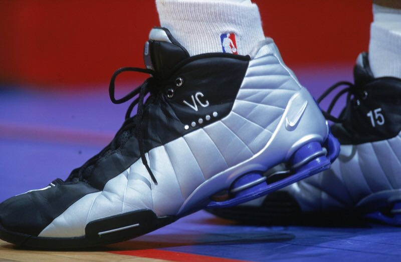 ce2a98332acc22 Vince Carter had a glorious run with Nike Basketball and the Nike Shox  technology being the frontman not on the Nike Shox BB4