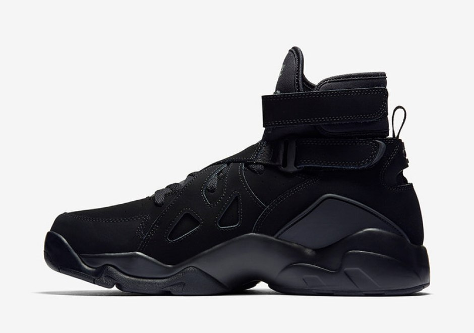 06869f17d7873c Releases Covered  Nike Air Unlimited Triple Black Nike Air Unlimited Triple  Black ...