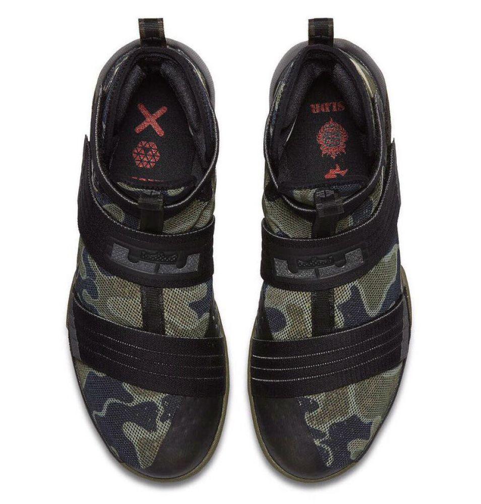 reputable site 9d6b0 02cd1 Nike LeBron Solider 10 Camo