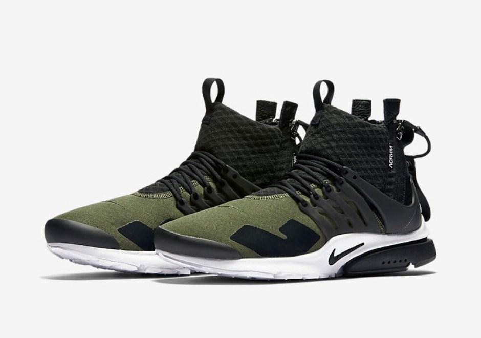 newest 83c73 70c02 ACRONYM x Nike Presto Mid