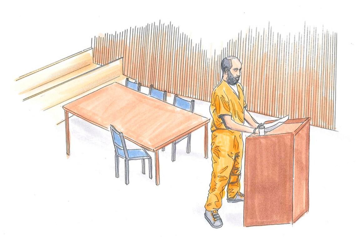 Livestock x Reebok NPC Strap Bad Day in Court