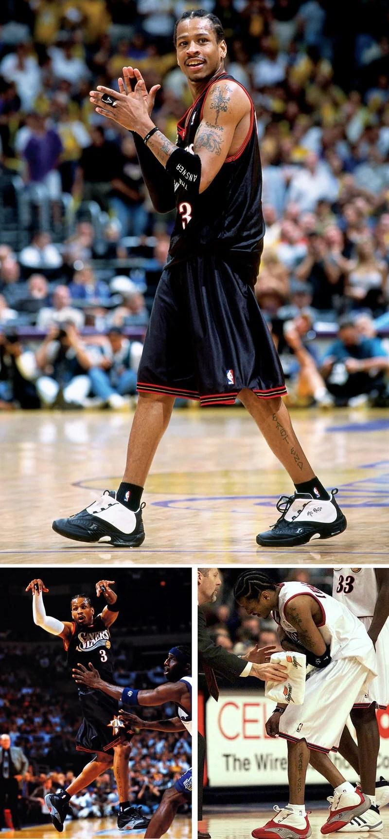 History of Allen Iverson Reebok Shoes | Nice Kicks