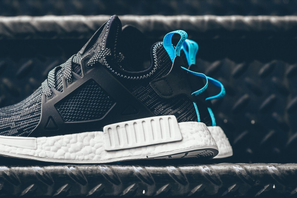 adidas NMD XR1 Core Black/Sky Blue