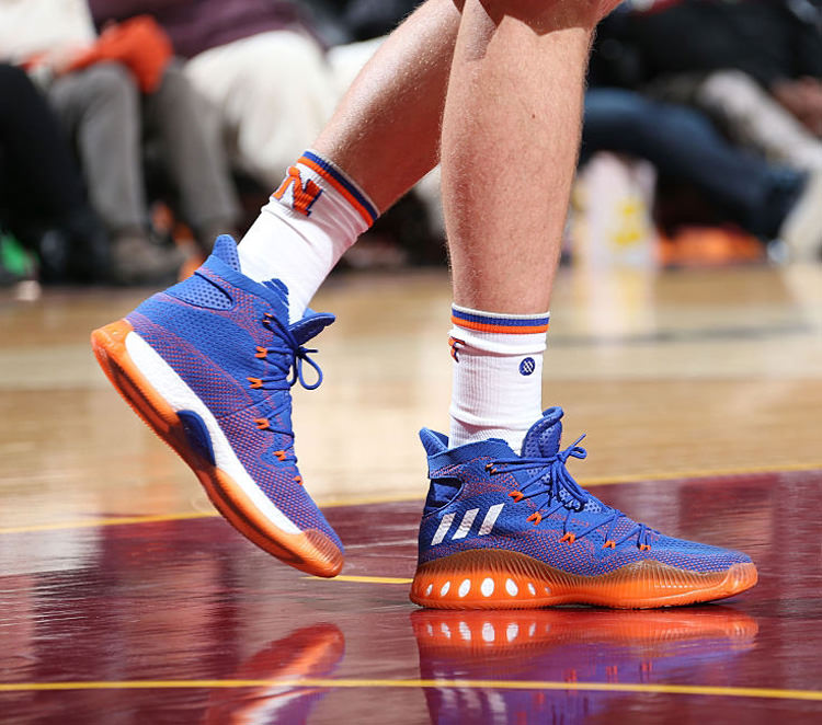 finest selection 38aaa 89ba2 ... Kristaps Prozingis in his adidas Crazy Explosive PE