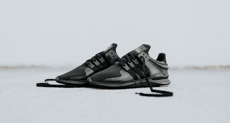 """new style 9a0ae b805d adidas EQT Support ADV """"Triple Black""""  Available Now"""