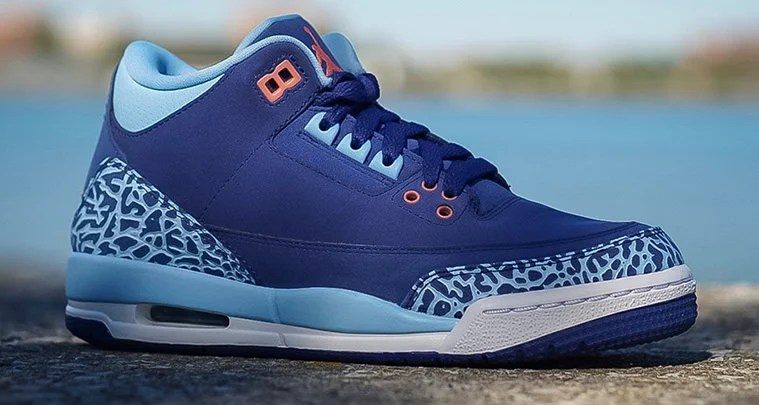 "huge selection of bac47 482ce Air Jordan 3 ""Dust Purple"" Launches Later This Month"