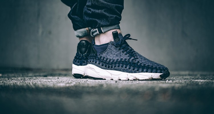 watch 3a69a 6cffe Nike Air Footscape Woven Chukka Denim