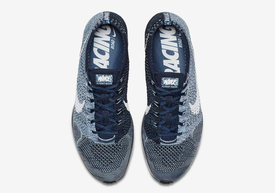 new styles 70e05 8af5c Nike Flyknit Racer Blue Tint Nike Flyknit Racer Blue Tint