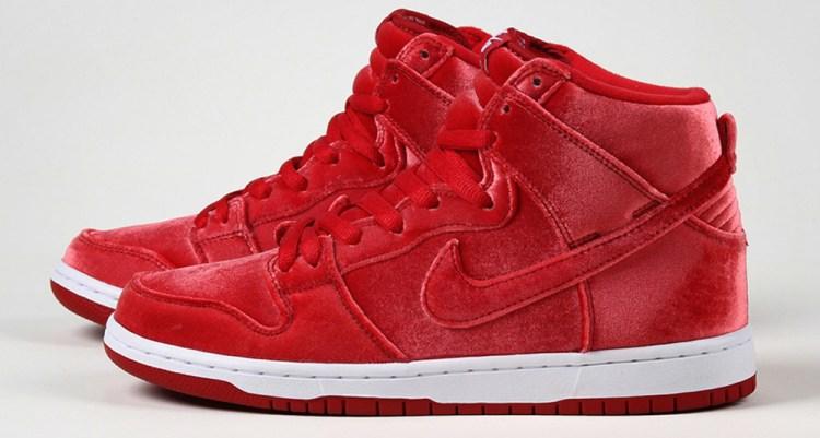 Nike SB Dunk High Red Velvet