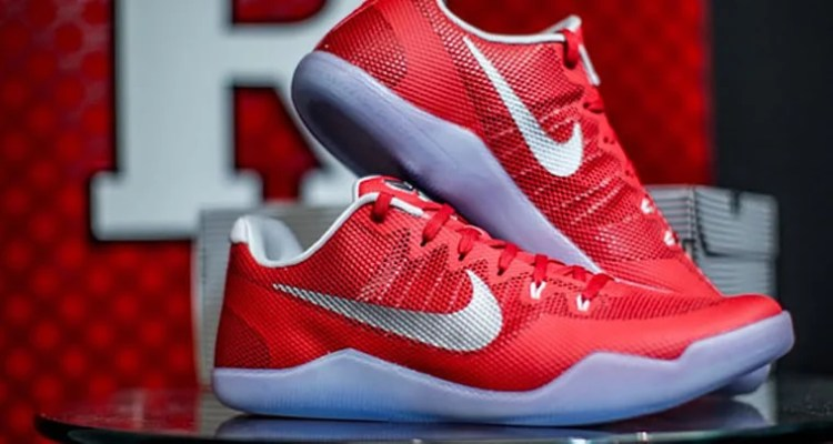 """Nike Kobe 11 """"Rutgers"""" PE"""
