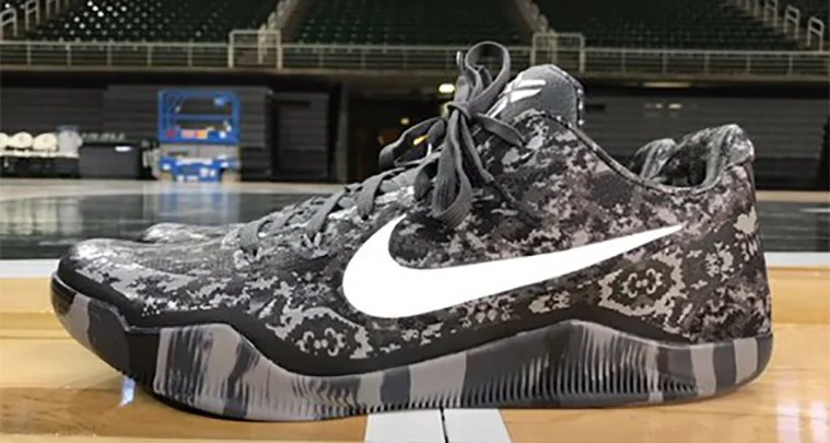 """differently a96bf c6dd5 ... Low Nike Kobe 11 """"Michigan State"""" PE for Armed Forces Classic ..."""
