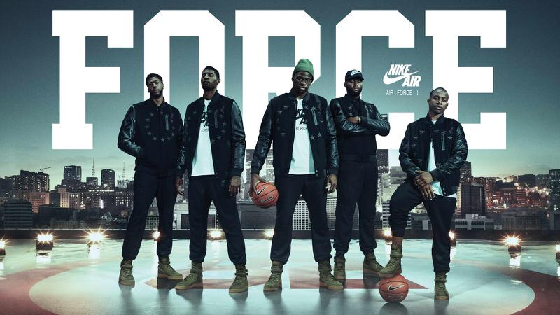 d4cb9d2756 Nike Debuts SF-AF1 With Anthony Davis, Paul George, Draymond Green and More