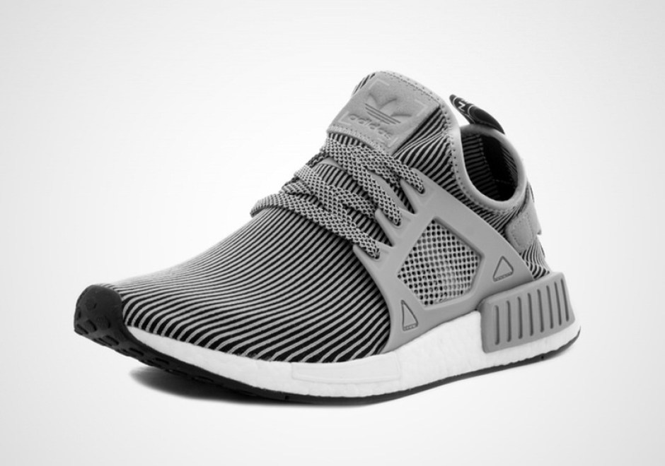 Adidas Originals NMD XR1 PK Primeknit Boost Triple White Shoes