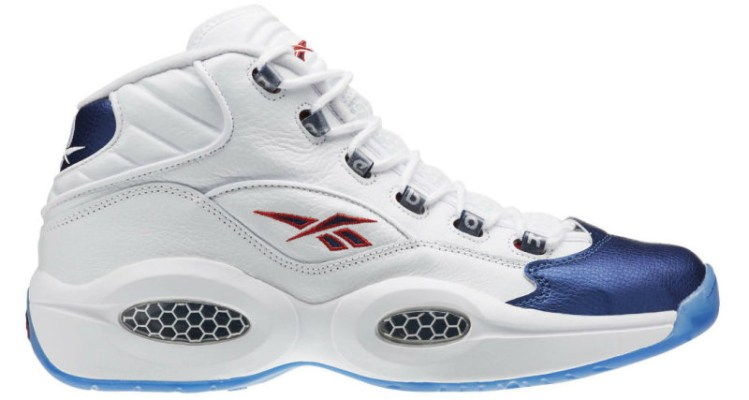 "Reebok Question ""Blue Toe"""