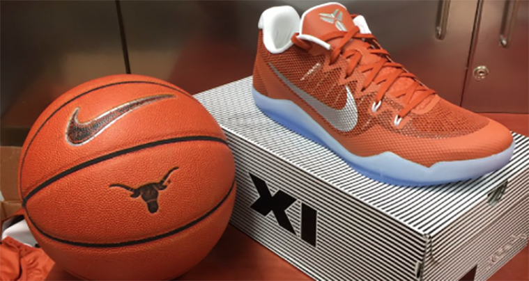 "Nike Kobe 11 ""Longhorns"" PE"