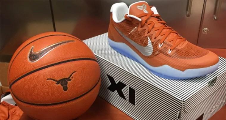 brand new 2346e 2da46 Texas Longhorns Gets Nike Kobe 11 PE