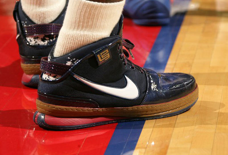 ea38b425059f3 Kicks On Court Classic    Every Christmas Sneaker Worn By LeBron James