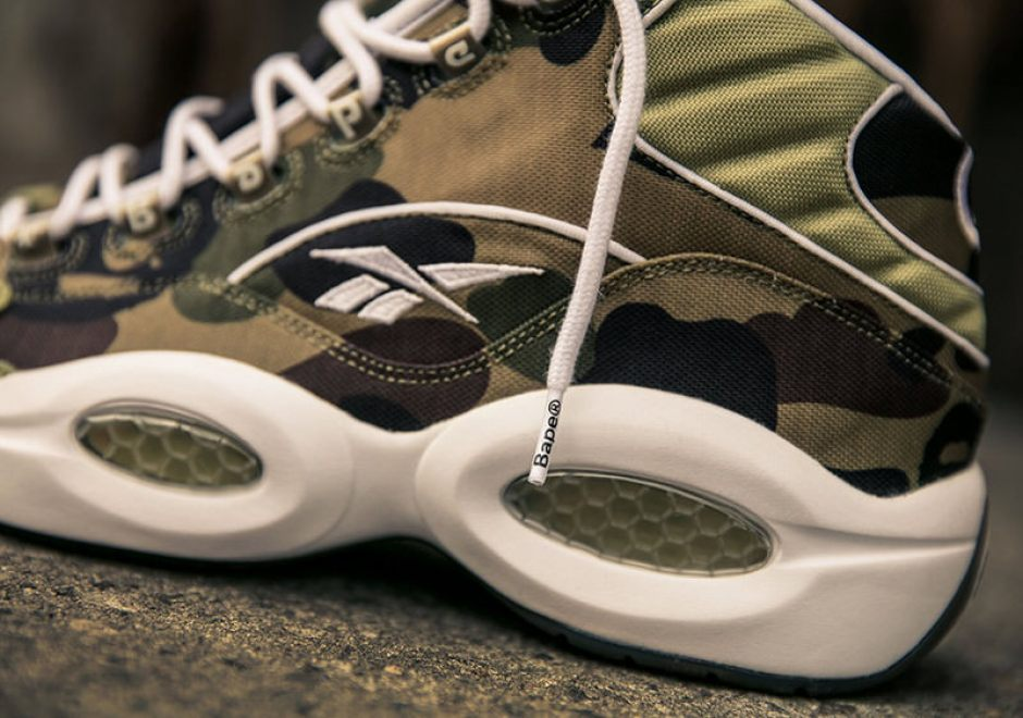BAPE x mita sneakers x Reebok Question