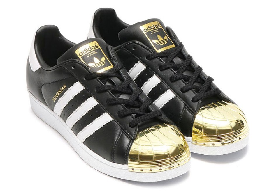 5654eca0b3d9b adidas Superstar Updated with Gold and Silver Shell Toes | Nice Kicks