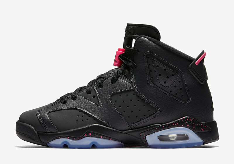 air jordan retro 6 pink red