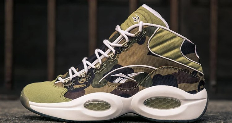 "BAPE x mita sneakers x Reebok Question ""1st Camo"""