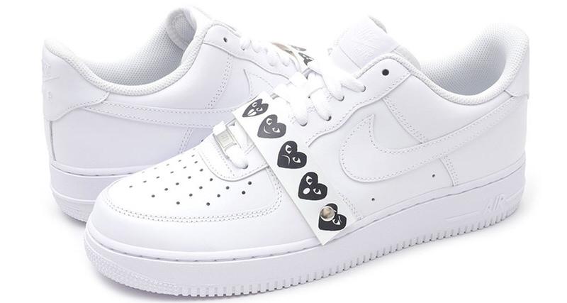 design de qualité 1f358 72ee5 COMME des GARÇONS x Nike Air Force 1