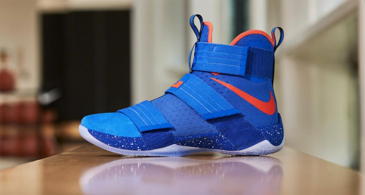 new product 52b69 51512 Nike LeBron Soldier 10 PE