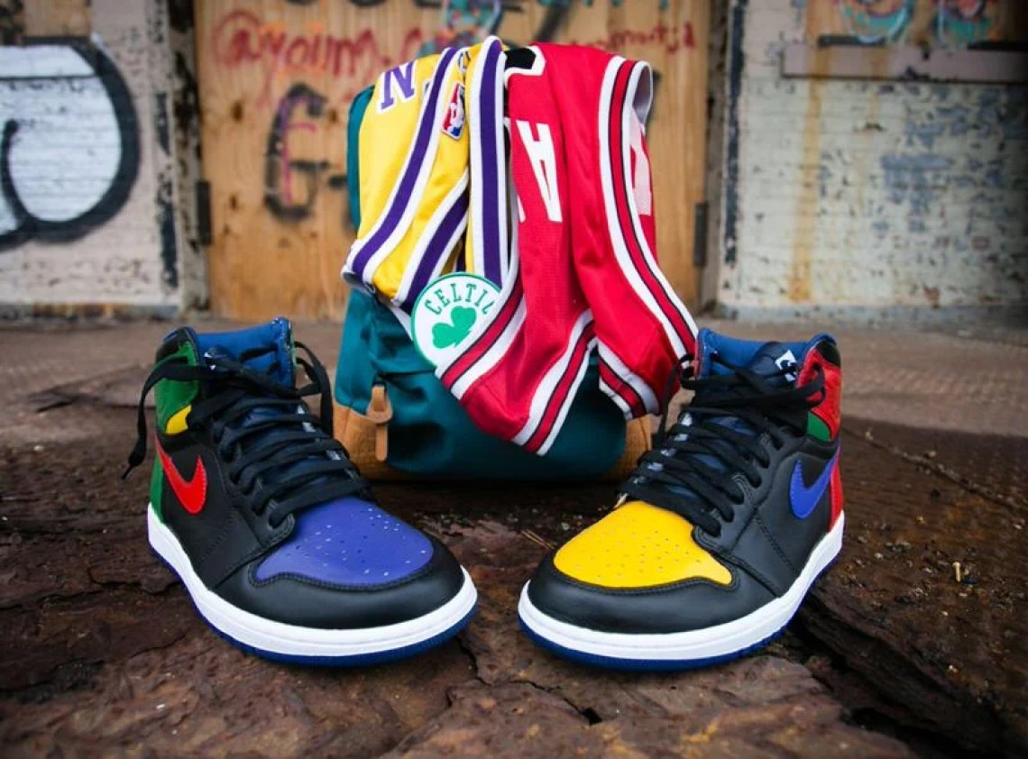 "Air Jordan 1 ""What the Legend"" by Malcolm Garret"