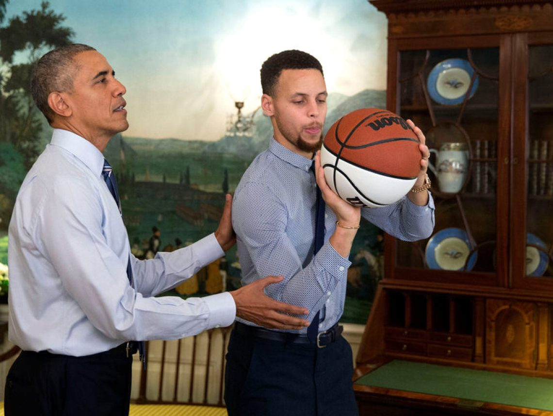 exclusive stephen curry honors president obamas