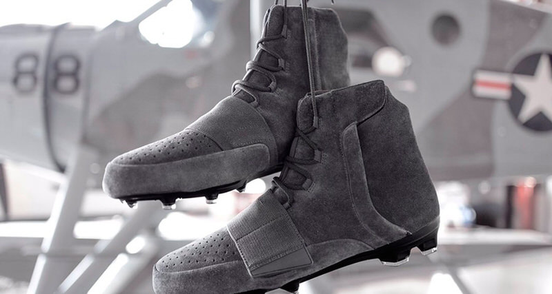 "adidas Yeezy 750 Cleats ""Grey"""